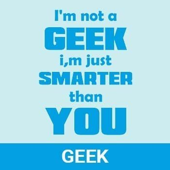 geek nerd category tshirts