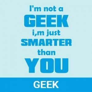 geek nerd category tshirts