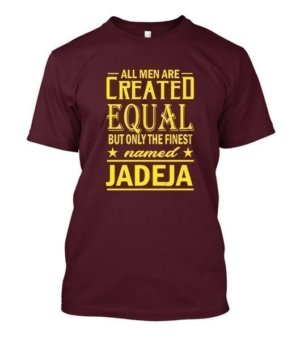 All men are created equal- Men's Customized Name tshirt