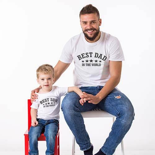 Best Dad & son tshirts