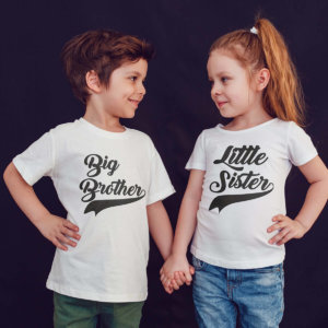 Big Brother Little Sister Sibling T-shirts