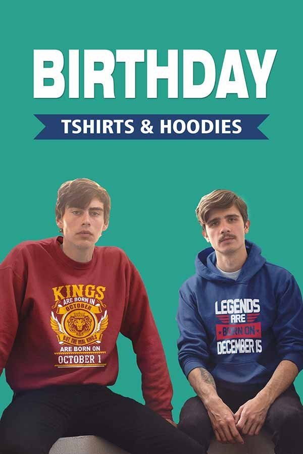 buy birthday hoodies