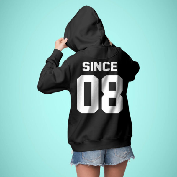 Together Since Customized Couple Hoodies-2