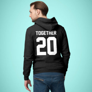Together Since Customized Couple Hoodies