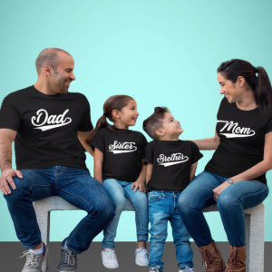 Dad Mom Brother Sister Family tshirt