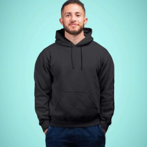 Men's Plain Hoodies