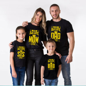 Awesome Matching Family tshirts