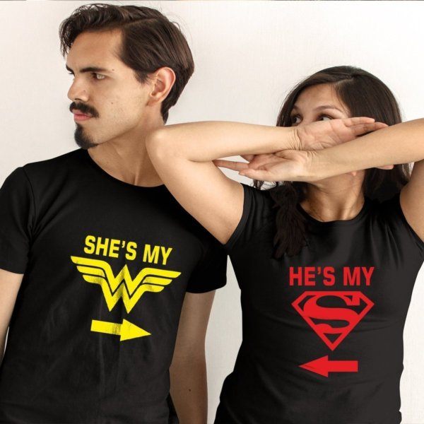 Funny couple tshirt
