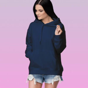 Women's Plain Hoodies