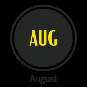 august tshirts