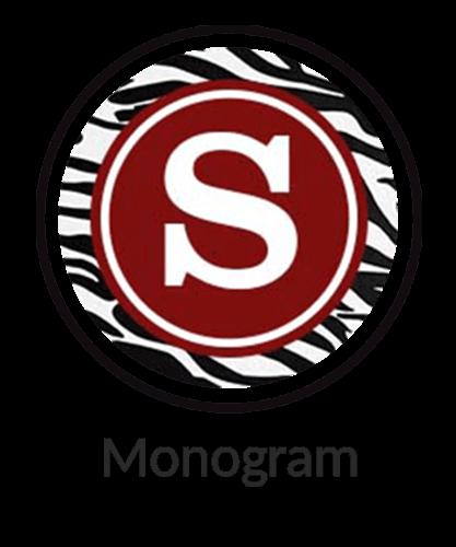 monogram print