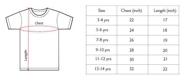 Kids T-shirt – TAB