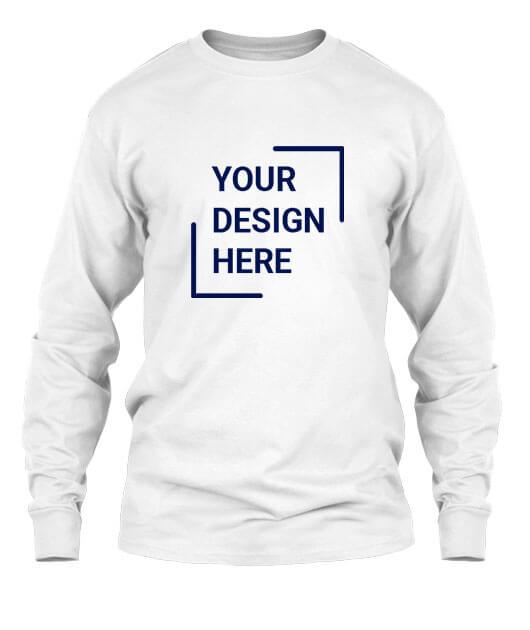 Custom T-shirts For Men, Full Sleeves
