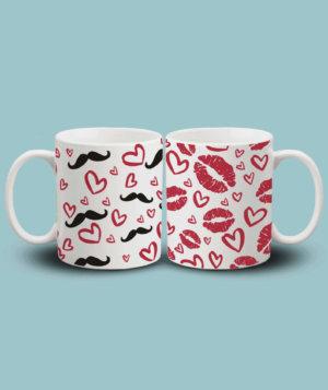 Printed Couple Mug