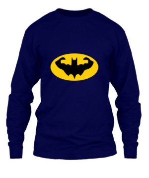 Batman Gym Hoodies, Men's Round T-shirt