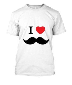 I love moustache, Men's Hoodies