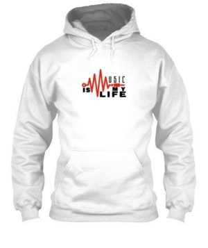 music is my life, Men's Hoodies