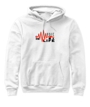 music is my life, Women's Hoodies
