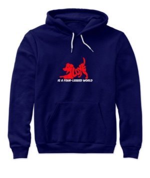 LOVE IS A FOUR LEGGED WORLD, Women's Hoodies