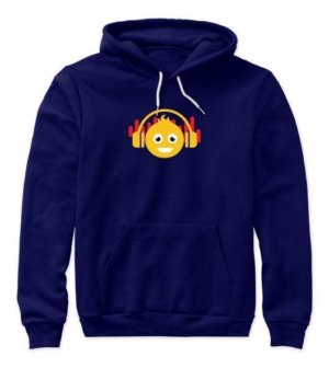 DJ smiley, Women's Hoodies
