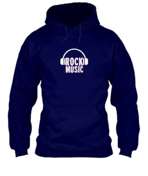 Rock music, Men's Hoodies