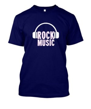 Rock music, Men's Round T-shirt