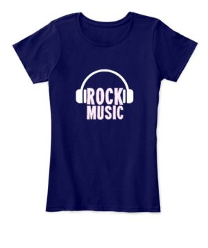 Rock music, Women's Round Neck T-shirt