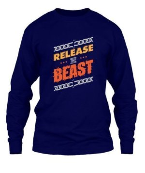Release the beast, Men's Round T-shirt