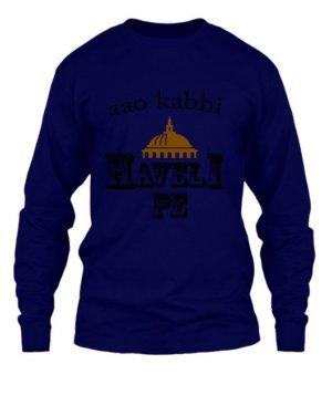 Aao kabhi haveli pe, Men's Long Sleeves T-shirt