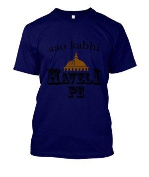 Aao kabhi haveli pe, Men's Round T-shirt