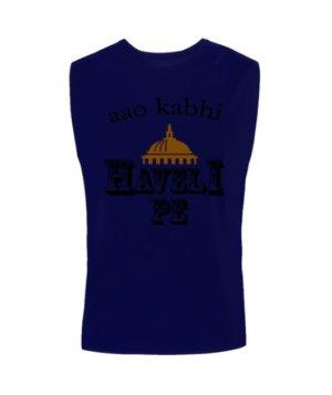 Aao kabhi haveli pe, Men's Sleeveless T-shirt