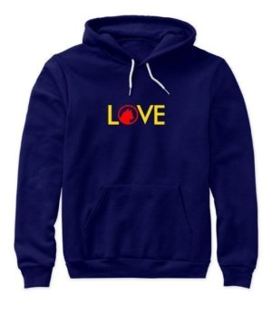 LOVE, Women's Hoodies