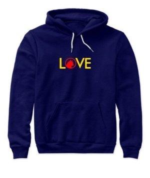 LOVE, Women's Hoodies