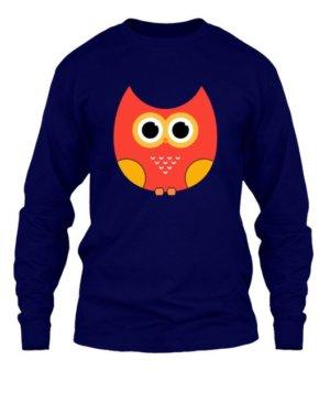 cartoon owl, Men's Long Sleeves T-shirt