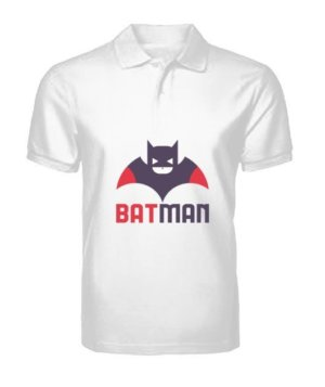 batman, Men's Polo Neck T-shirt