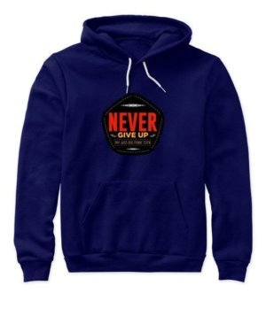 never give up, Women's Tank Top