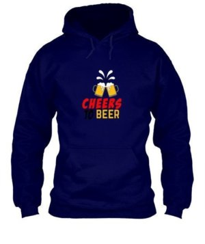 Cheers To Beer, Men's Hoodies
