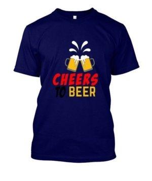 Cheers To Beer, Men's Long Sleeves T-shirt