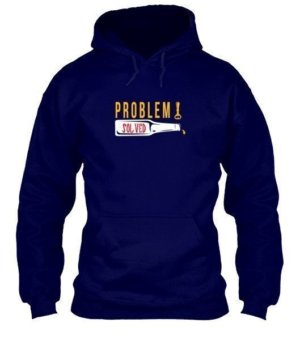 Poblem Solved. Just Chill, Men's Hoodies