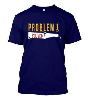 Poblem Solved. Just Chill, Men's Round T-shirt