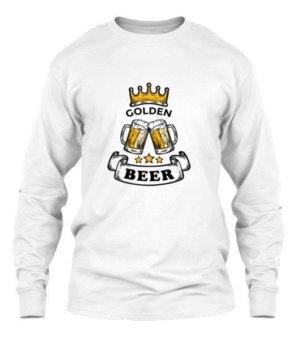 Beer is Gold, Men's Long Sleeves T-shirt