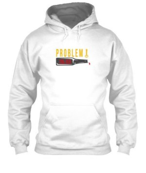 Problem Solved With Beer, Men's Hoodies