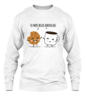 Tu Mere Beger Adhoora hai, Men's Long Sleeves T-shirt