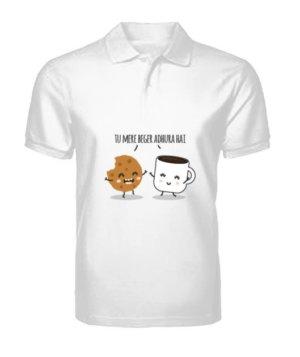 Tu Mere Beger Adhoora hai, Men's Polo Neck T-shirt