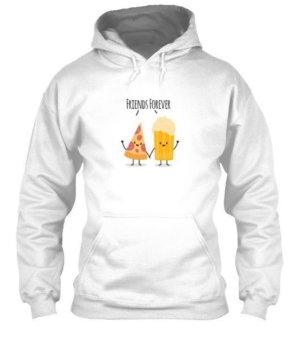 Pizza and Beer Friends Forever, Men's Hoodies