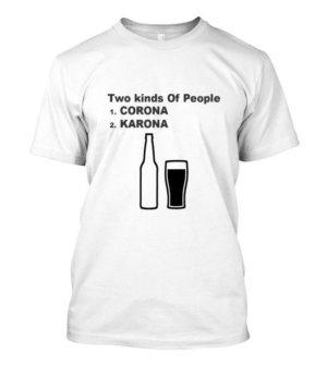 Corona vs Karona, Men's Round T-shirt