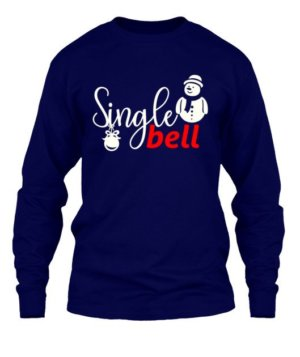 Single Bell Tshirt, Men's Long Sleeves T-shirt