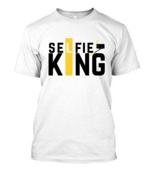 Selfie King Tshirts and Hoodies, Men's Round T-shirt