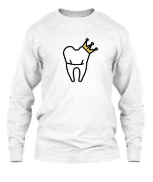 Dentist King and Queen Tshirts, Men's Long Sleeves T-shirt