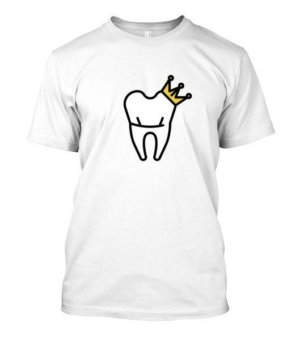 Dentist King and Queen Tshirts, Men's Round T-shirt